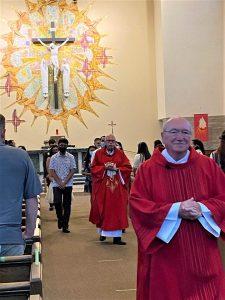 Confirmation Ceremony at St. Cornelius